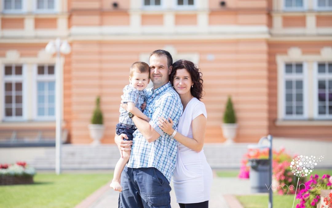 Pintér család fotósorozata- Győrben
